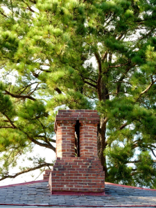 Four flue chimney