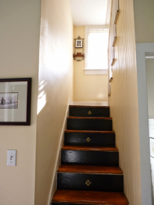 Rear stairs